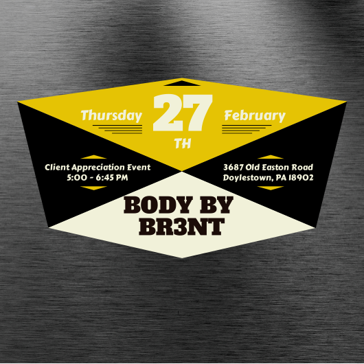 client appreciation event   body by brent